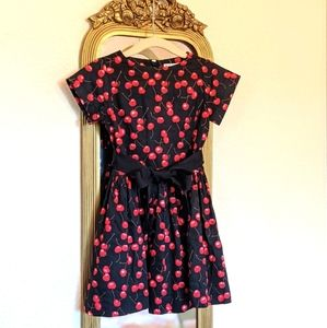 Crewcuts Girls Cherry Party Dress 3